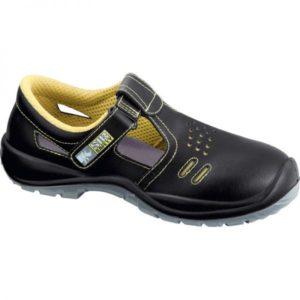 Sandale de protectie - piele neteda de bovina; bombeu compozit