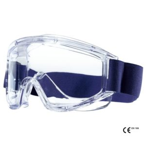 Ochelari protectie substante chimice. Rama din pvc