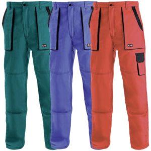 Pantaloni in talie din bumbac 100%