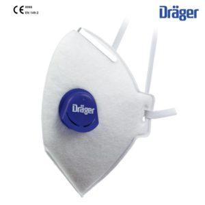Semimasca DRAGER FFP3 NR D cu supapa