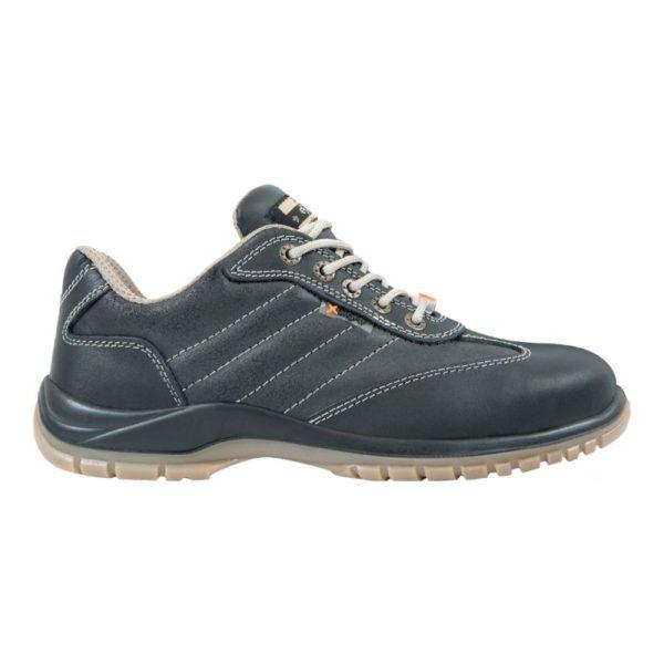 Pantofi de protectie - piele box de bovina si spalt de bovina cerat