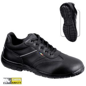 Pantofi de lucru - piele neteda de bovina