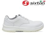 Pantof de protectie alb cu bombeu compozit BIELLA S2