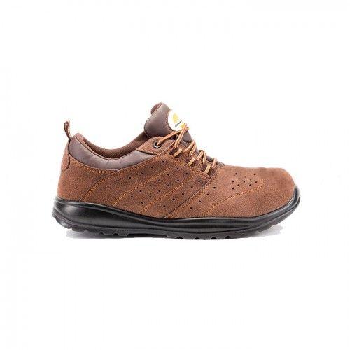 Pantof de protectie cu bombeu metalic si lamela antiperforatie DAKAR S1P
