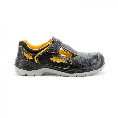 Sandale de protectie cu bombeu metalic si lamela antiperforatie YANTAI S1P SRC